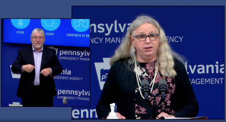Rachel Levine Press Conference