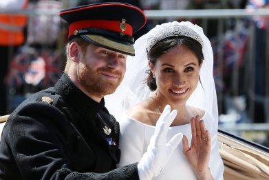 Prince Harry and Meghan Markle Wedding Procession