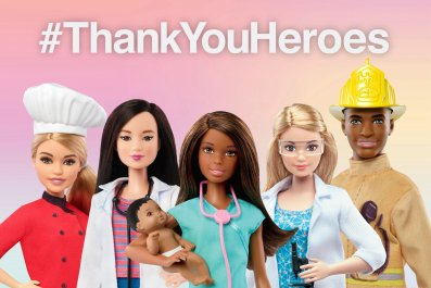 Barbie Thank You Heroes