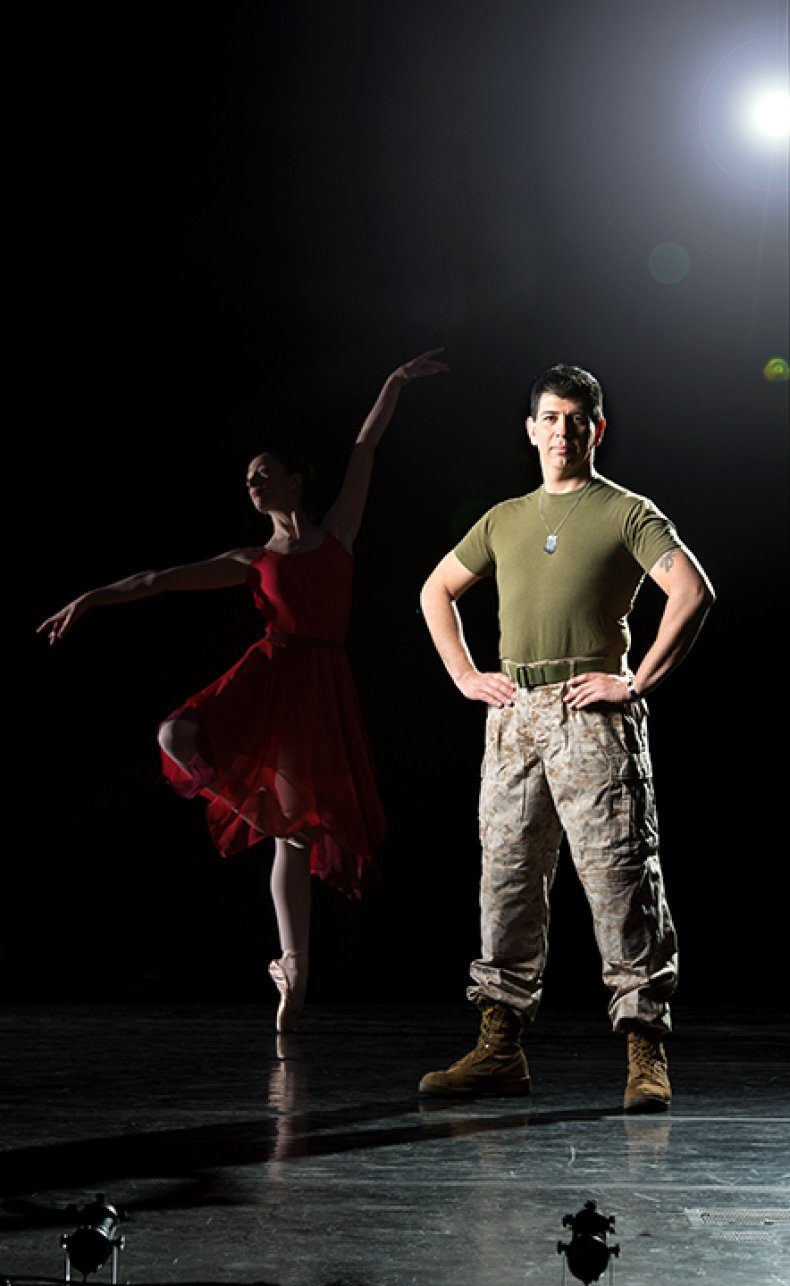 Veteran, Iraq War, Marine, Dance