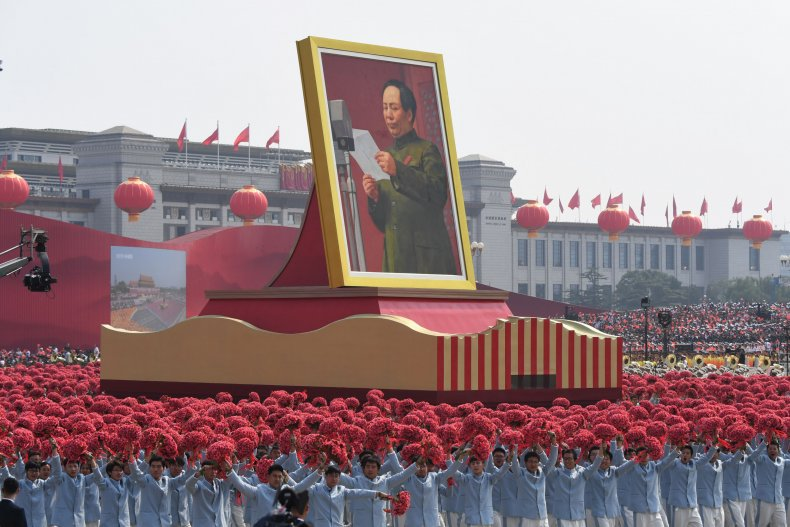 National Day parade in Beijing