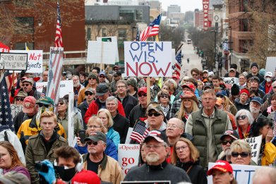 wisconsin protest