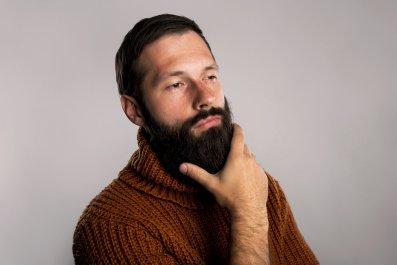 beard, man, facial hair, stock, getty