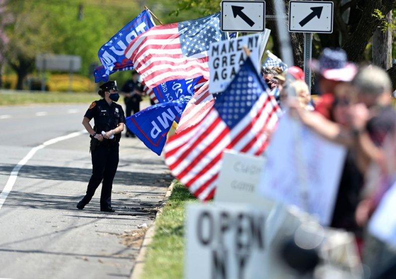 New York Anti-Lockdown Protest