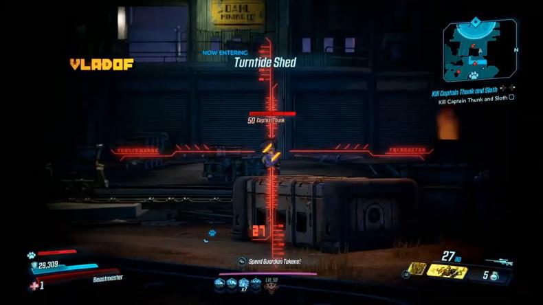 borderlands 3 thunk and sloth gameplay