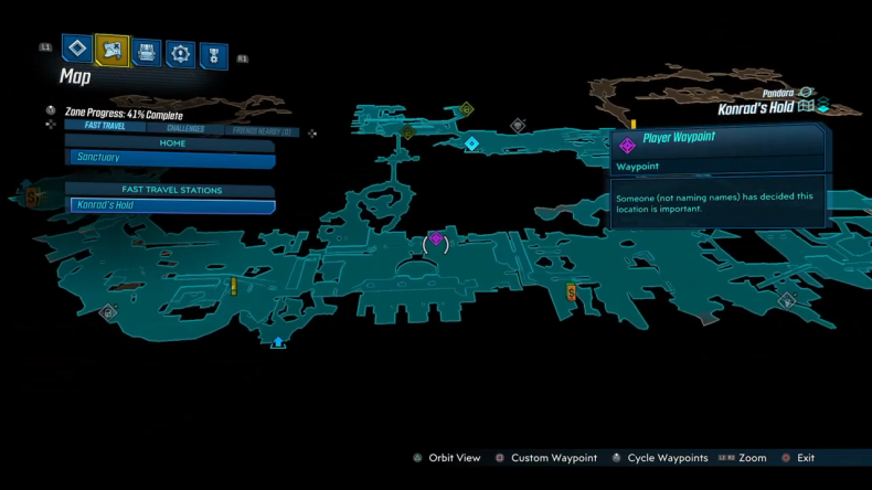 borderlands 3 thunk and sloth location
