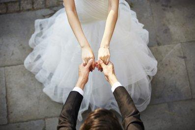 Wedding, Love, marriage, high school sweethearts