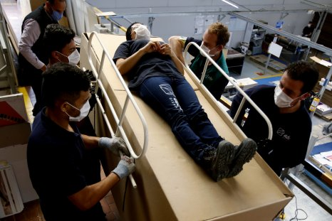 Colombian Company's Coffin/Bed Combo