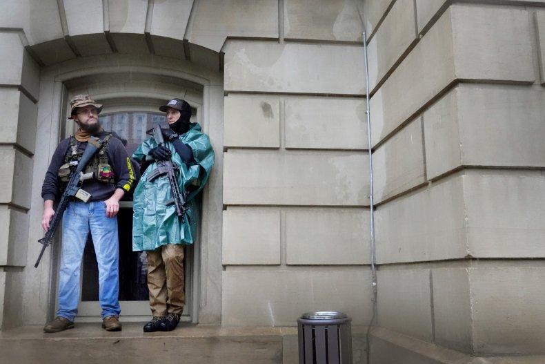 Coronavirus Anti-Lockdown Protests in Michigan