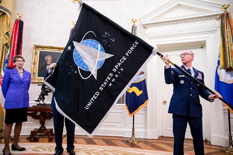 U.S. Space Force Flag
