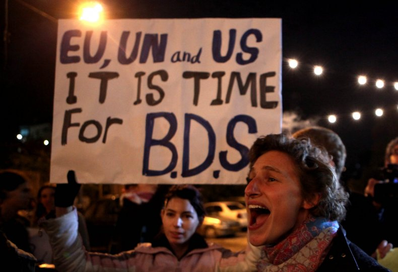 BDS supporters
