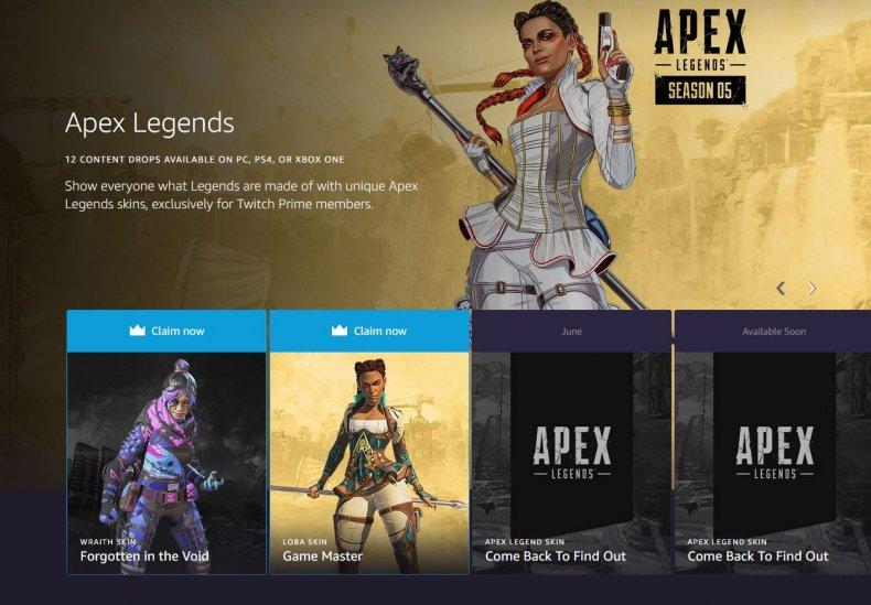 apex legends twitch prime game master loba