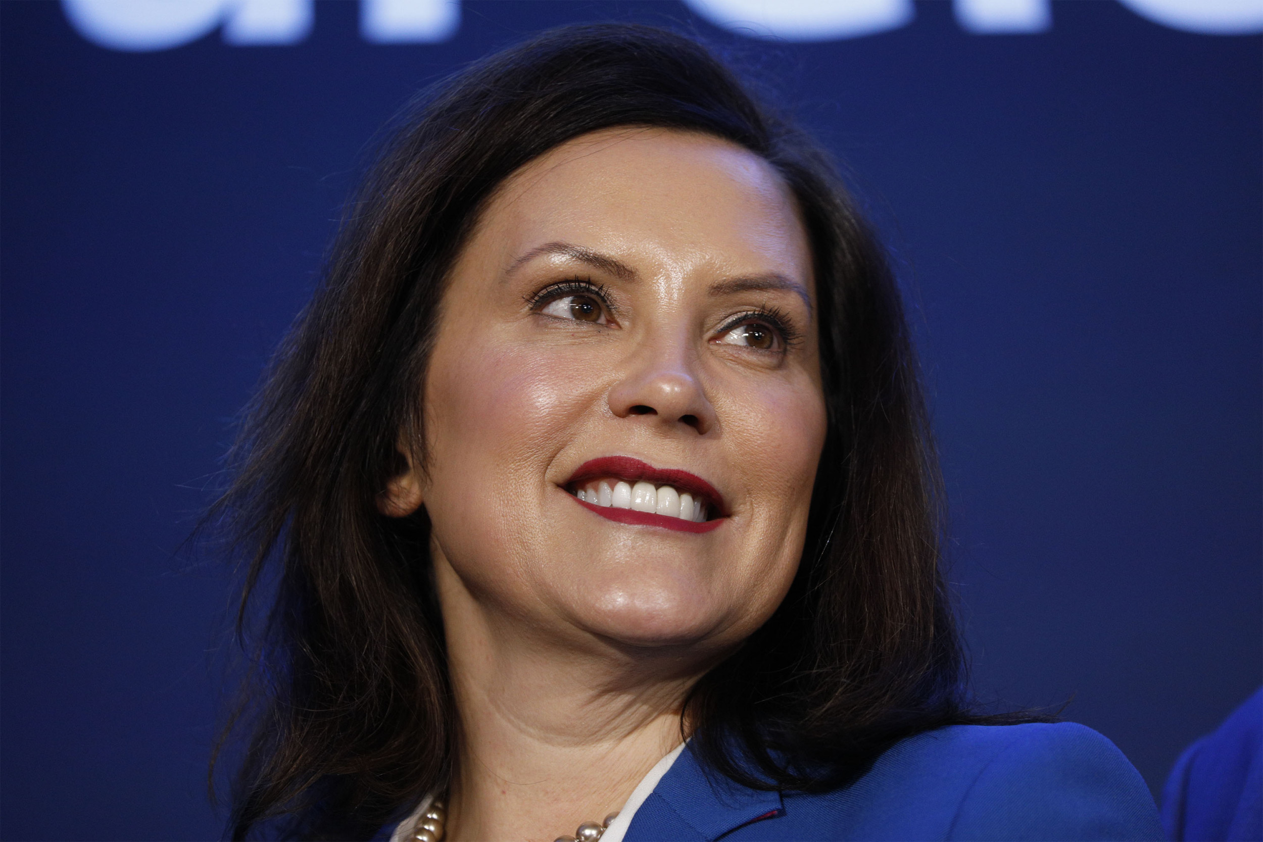 Michigan Governor Whitmer says a vaccine is needed before filling stadiums