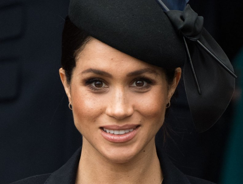 Meghan Markle Royal Family Christmas Church Service