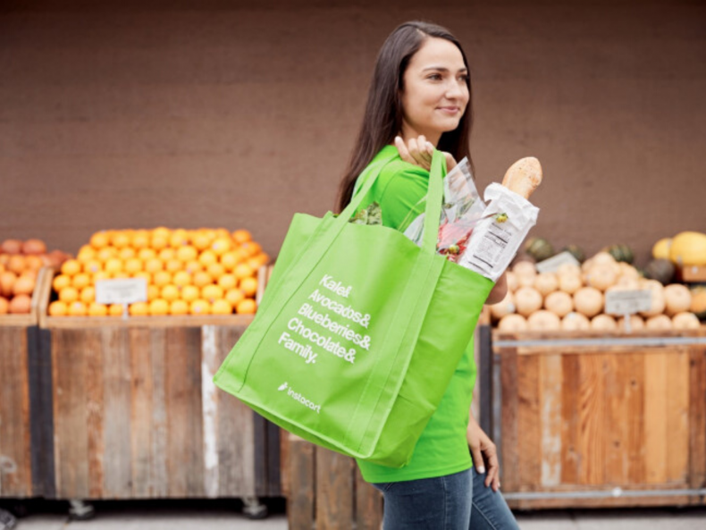 Sign up to become an Instacart shopper