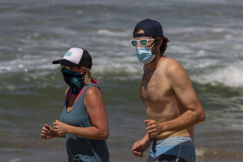 US beaches coronavirus