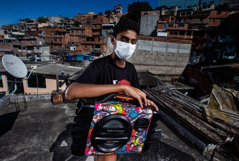 coronavirus, Sao Paulo, Brazil, May 2020