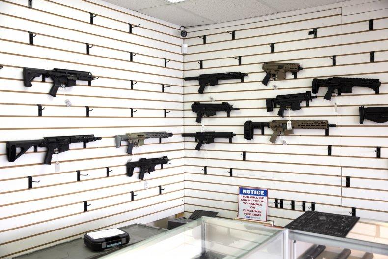 Gun store in Washington
