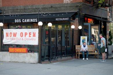New York City restaurant, coronavirus