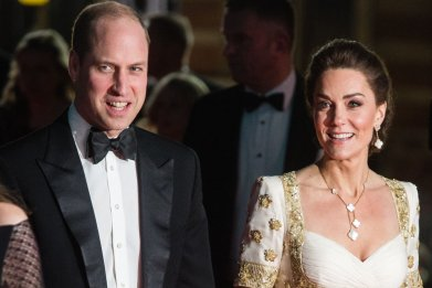 Prince William and Kate Middleton, BAFTAs