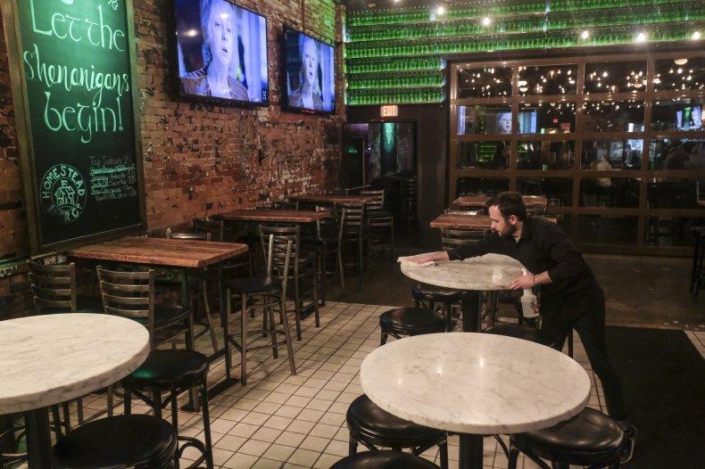 Restaurant, Columbus, Ohio, May 2020