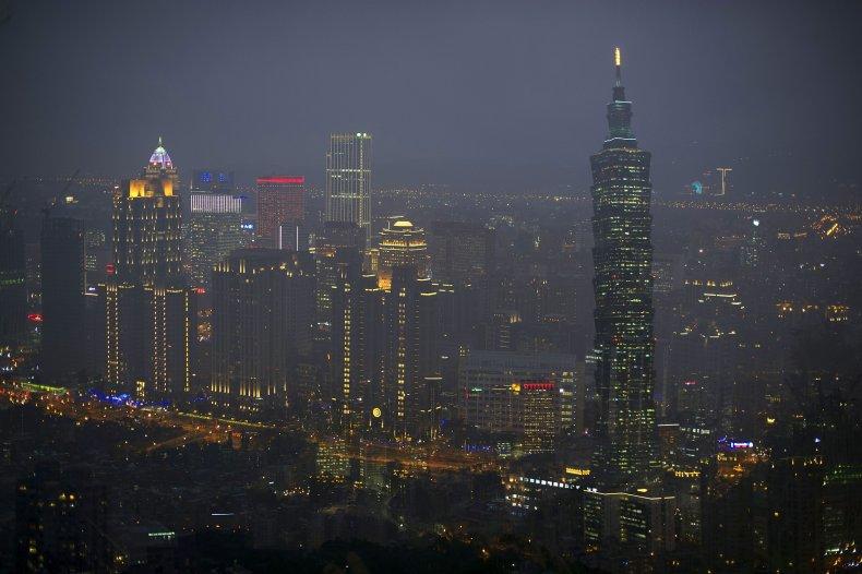 Taipei, Taiwan at night