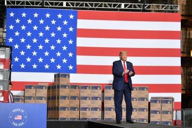 president trump allentown pennsylvania visit