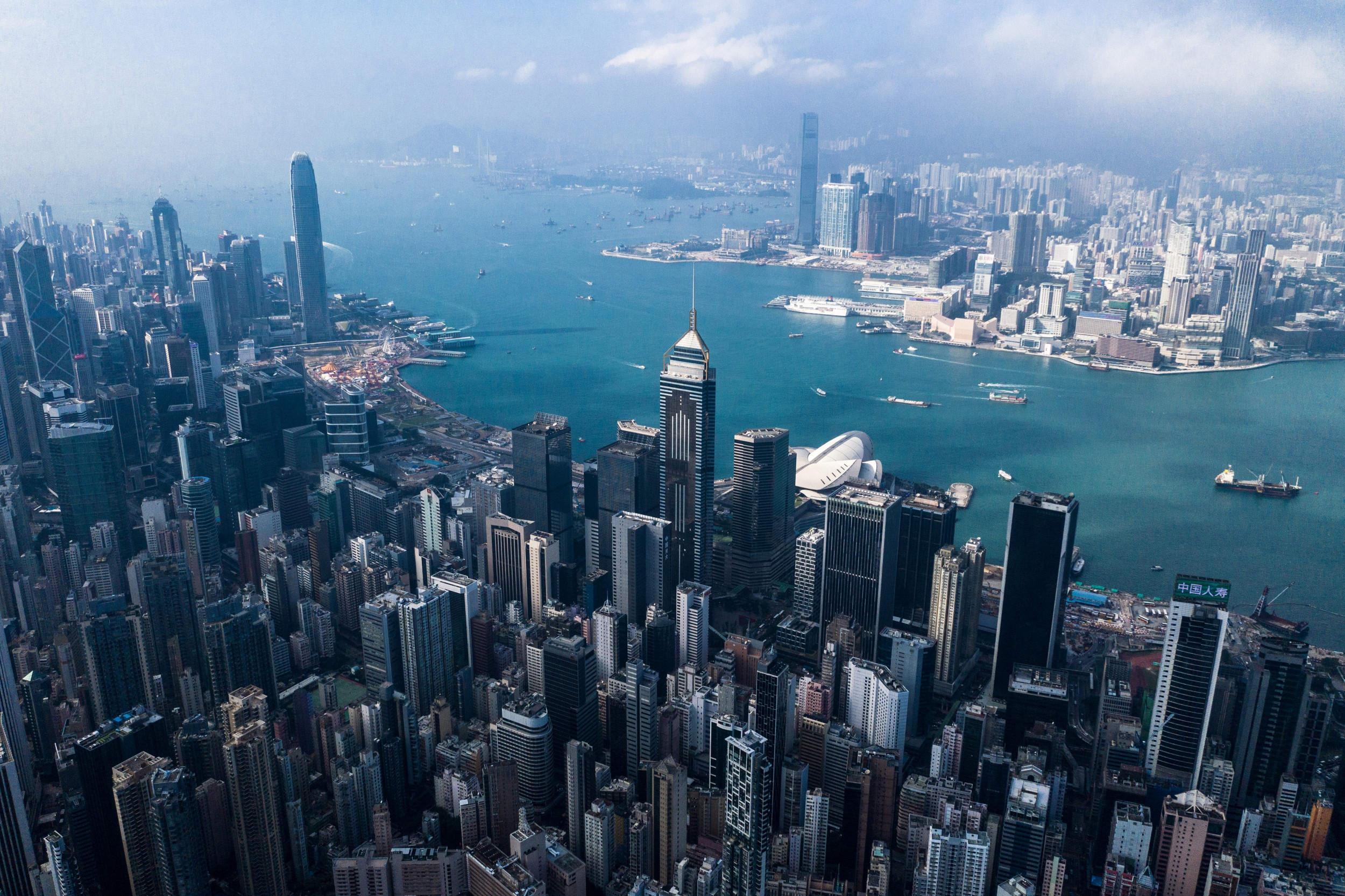 Hengityssuojain Hong Kong