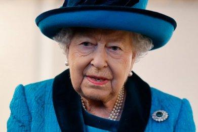 Queen Elizabeth II Visits Royal Philatelic Society