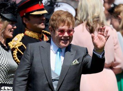 Elton John at the Royal Wedding