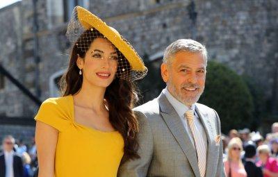 George and Amal Clooney, Royal Wedding 2018