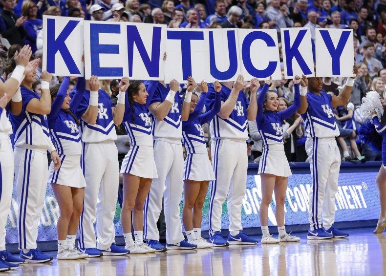 University of Kentucky, Cheerleaders