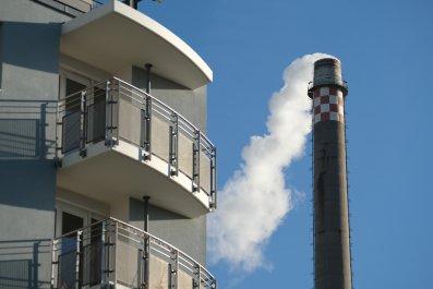 carbon emissions, power plant