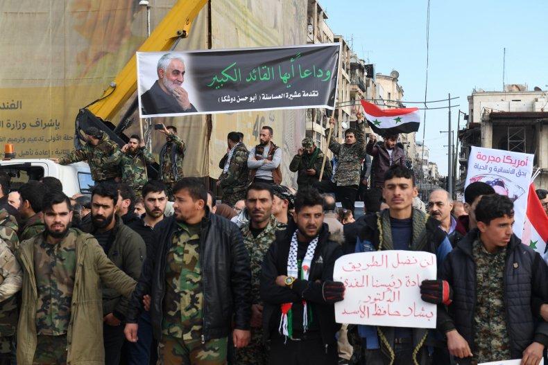 syria, military, iran, qassem, soleimani
