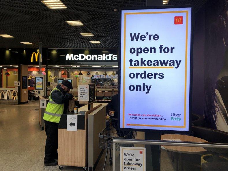 McDonalds coronavirus