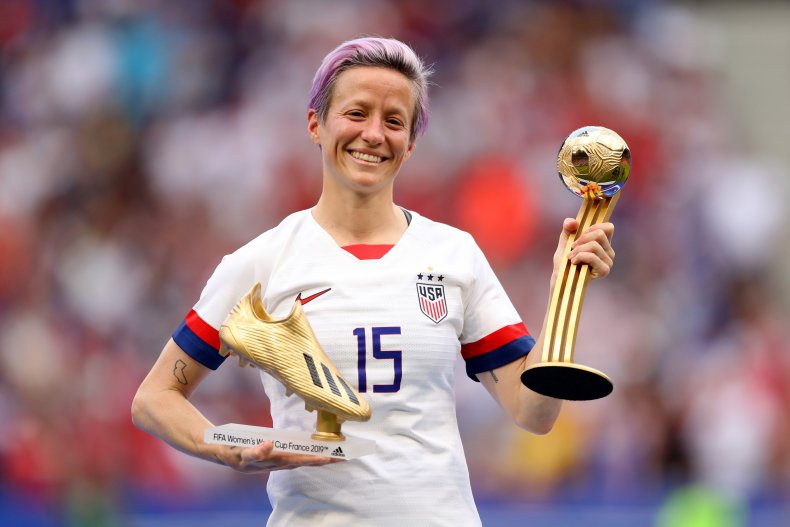 Megan Rapinoe soccer player