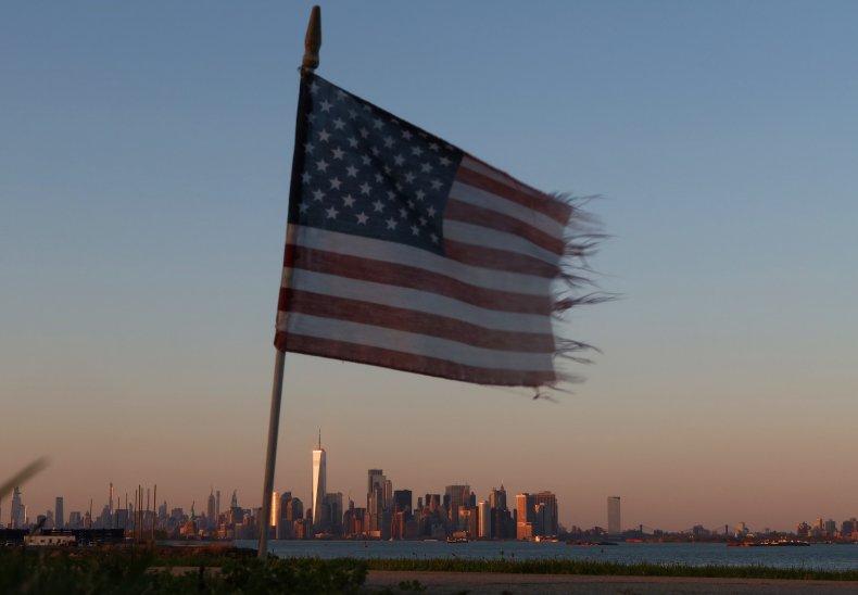 American Flag Coronavirus