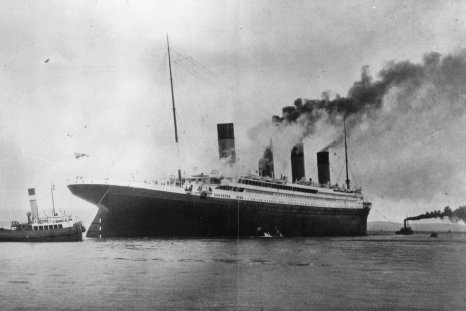Titanic, during trials in Belfast
