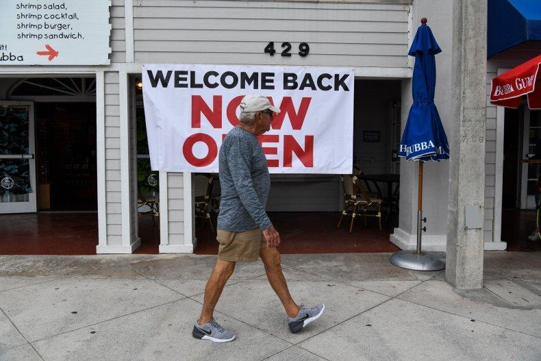 Reopening in Florida