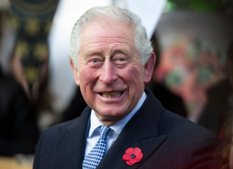 Prince Charles at Swiss Cottage Farmers' Market