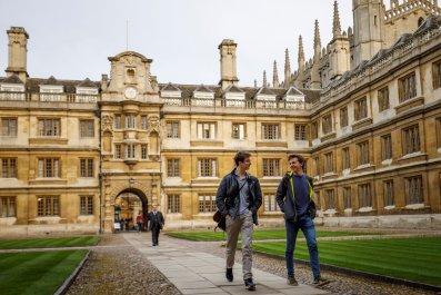 Cambridge University lectures online