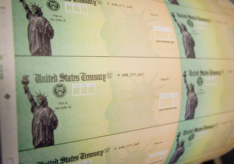 Stimulus checks, Pennsylvania, May 2008