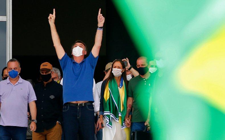 Bolsonaro Coronavirus Rally