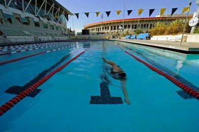 LA Swim Stadium Pool on May 20, 2010 in Los Angeles, California
