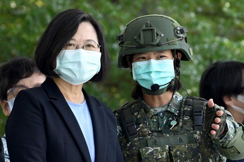 Tsai Ing-wen, China, Taiwan, US, weapons, sales