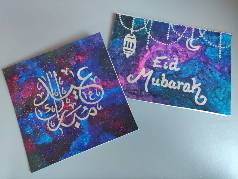 Eid cards COVI-19 lockdown