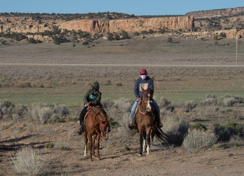 Navajo Nation, Casamero Lake, New Mexico, May2020