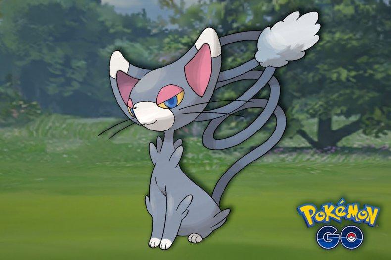 pokemon go sinnoh throwback glameow