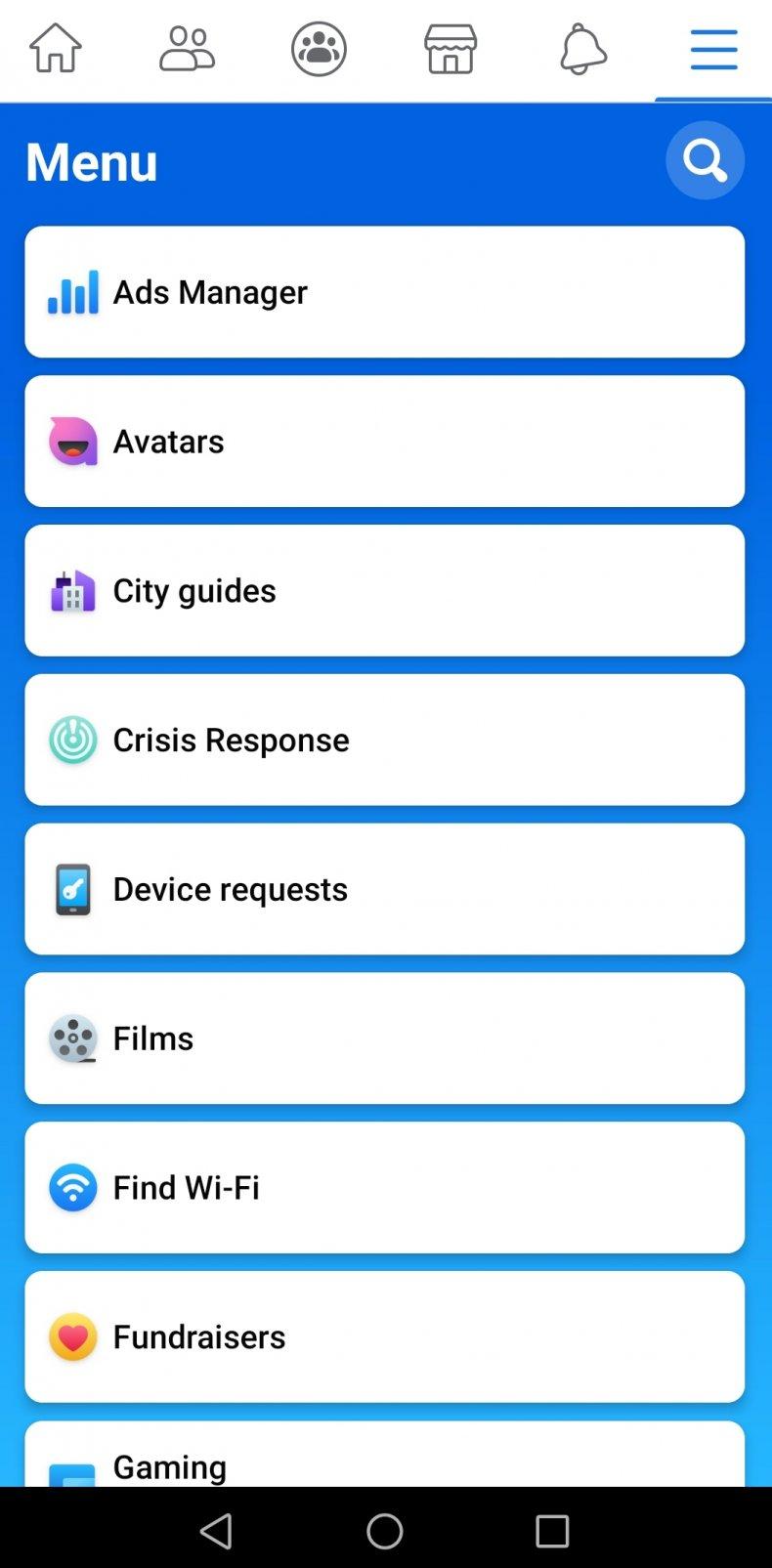 Screenshot Facebook Avatar