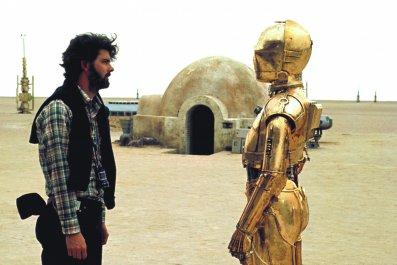 George Lucas Star Wars Behind the Scenes